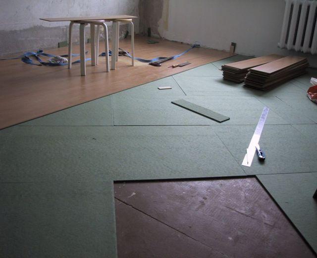 Хвойная подложка под ламинат: плюсы и минусы