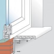 Установка подоконника на пластиковые окна своими руками: как правильно поставить и закрепить