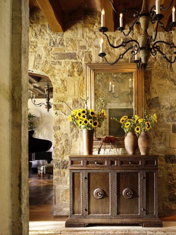 Искусственный (декоративный) камень в интерьере квартиры: отделка стен плиткой