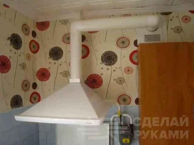 Как сделать вентиляцию на кухне в квартире своими руками?