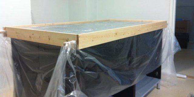 Раковина, столешница из бетона: как сделать своими руками?