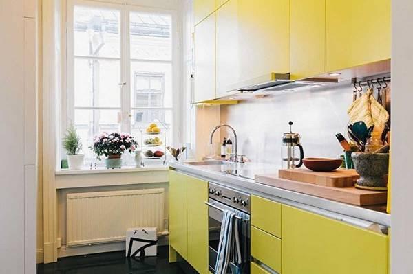 Интерьер для маленькой кухни: идеи дизайна, обустройство и ремонт