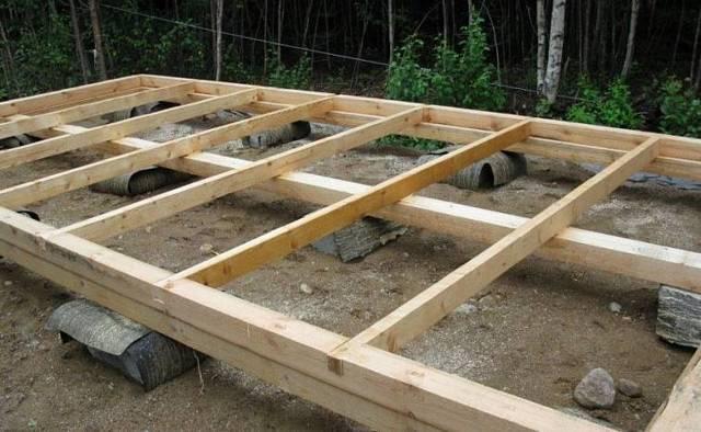 Как построить сарай своими руками с односкатной крышей поэтапно: чертежи, проекты