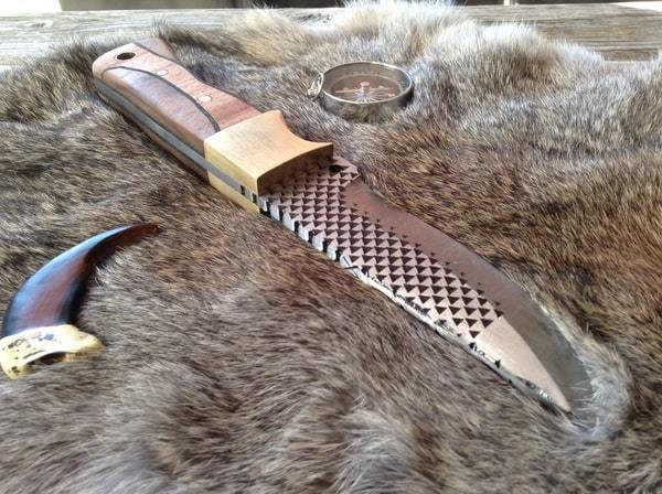 Как сделать нож из напильника своими руками