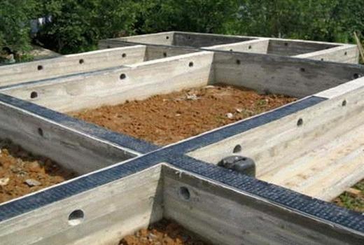 Строительство и устройство ленточного фундамента дома своими руками