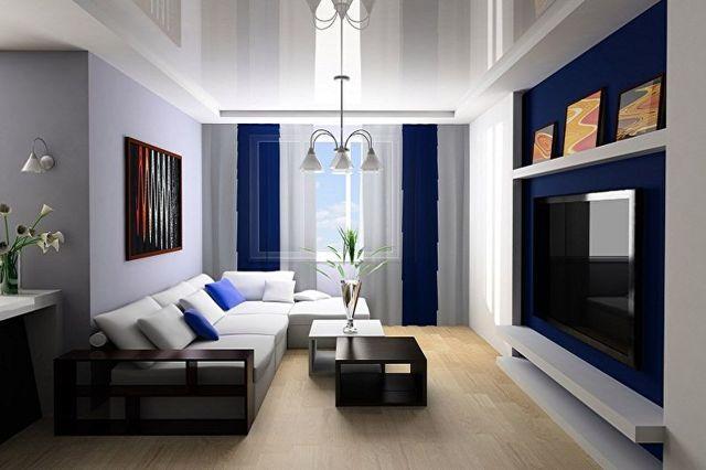 Дизайн зала в квартире: как обустроить, интерьер, мебель
