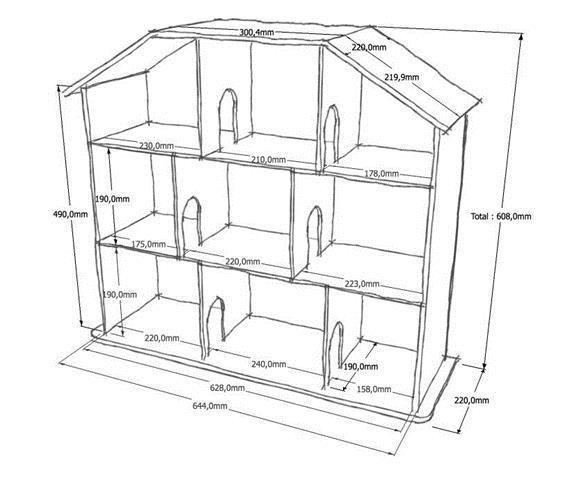 Дом из фанеры своими руками: чертежи и инструкция
