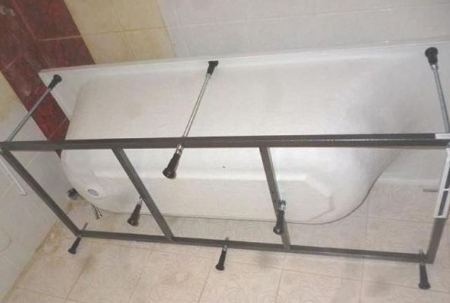 Правильная установка акриловой ванны своими руками