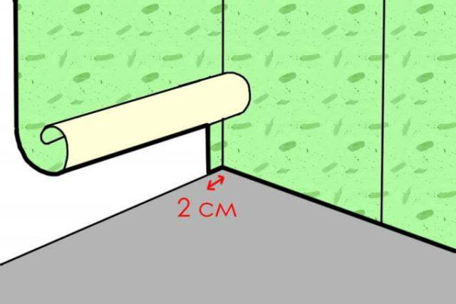 Как правильно клеить обои под покраску