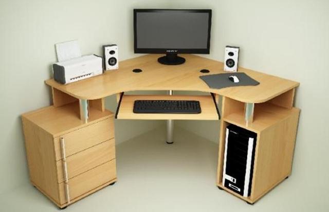 Как собрать компьютерный стол своими руками: чертежи, схемы, размеры