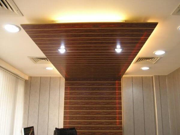 Потолок из панелей мдф своими руками