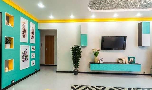 Как подобрать цвет краски (палитру) для стен?