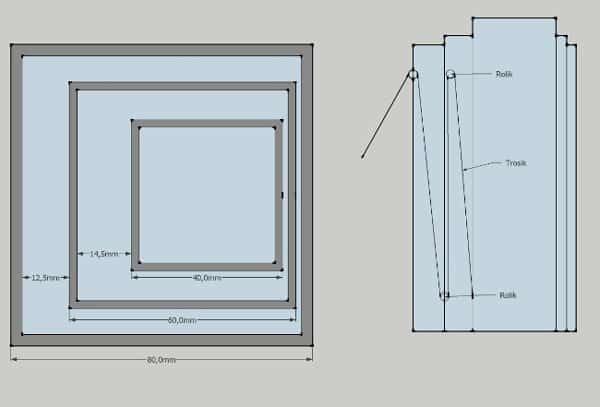 Подъемник для гипсокартона своими руками: чертежи и схемы