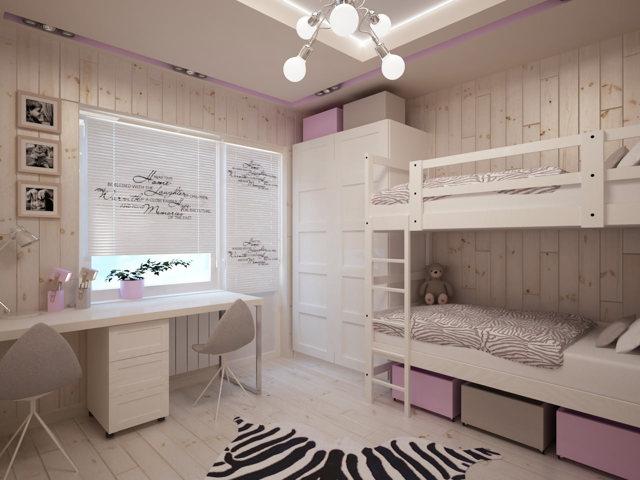 Ремонт детской комнаты для девочки своими руками: идеи и дизайн