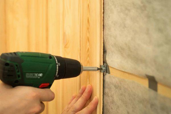 Как правильно обшить стены вагонкой своими руками