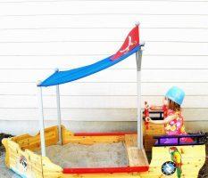 Песочница для детей своими руками: как сделать?