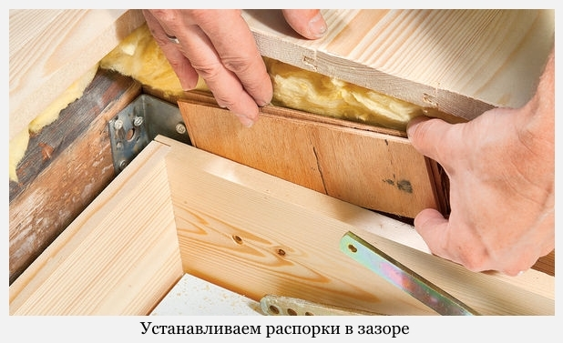 Установить чердачную лестницу с люком, раскладную своими руками