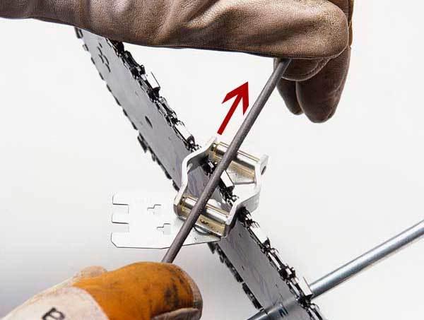 Как заточить цепь бензопилы на дому – что вам понадобится?