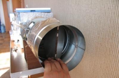 Как сделать обратный клапан на вентиляцию своими руками