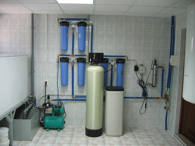 Очистка воды из скважины в загородном доме – пьем чистую воду