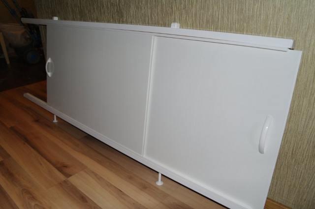 Как сделать экран под ванну своими руками из плитки, пластиковых панелей