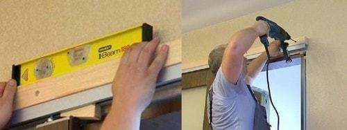 Направляющие для раздвижных дверей – установка своими руками