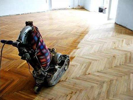 Циклевка паркета своими руками циклевочной машиной