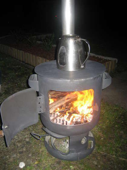 Печка для дачи на дровах – как сделать своими руками?