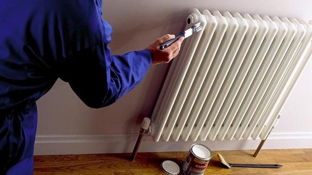 Можно ли красить горячие батареи отопления в отопительный сезон?