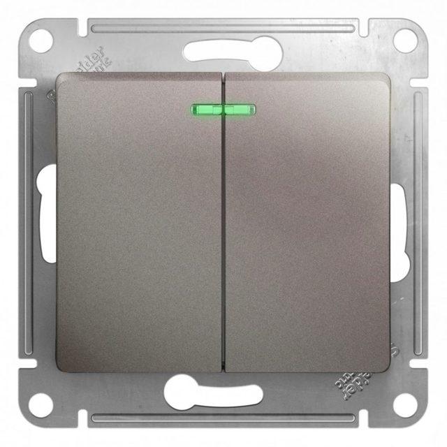 Монтаж выключателя с подсветкой своими руками: схема подключения