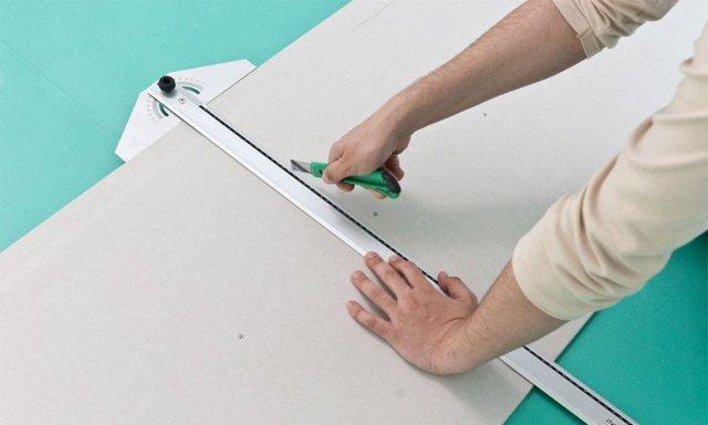 Как сделать декоративный камин из гипсокартона своими руками: чертежи, размеры