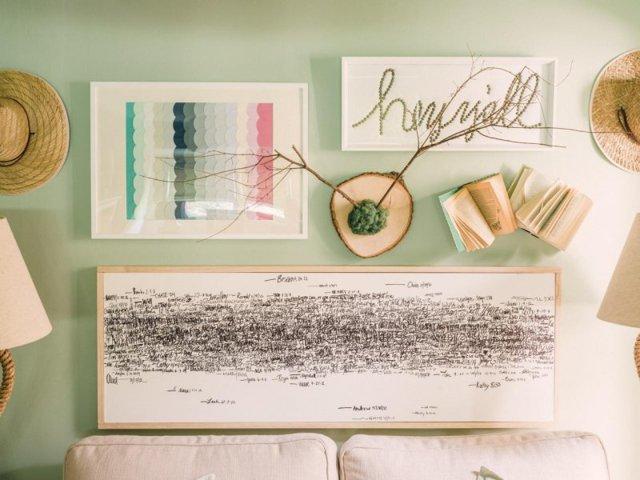 Как декорировать стены своими руками: оригинальные варианты оформления