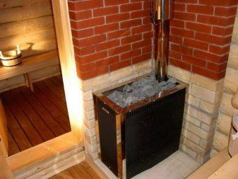 Установка печи в бане, дымохода своими руками – пошаговая инструкция