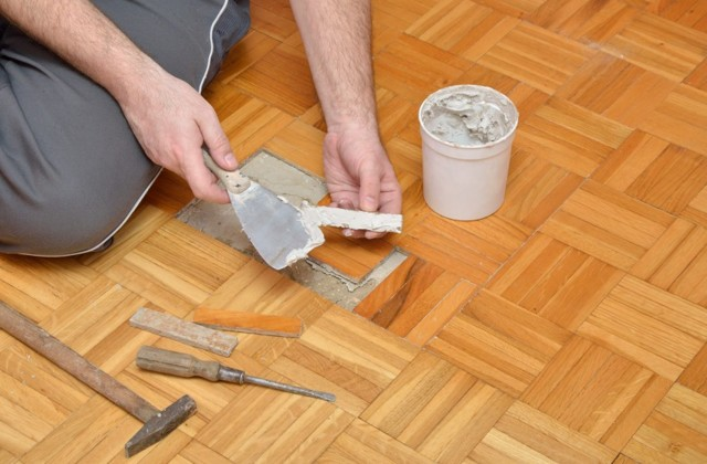 Восстановление и ремонт паркета своими руками – пошаговая инструкция