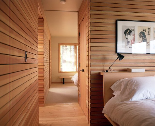 Внутренняя отделка стен деревянного дома (сруба)
