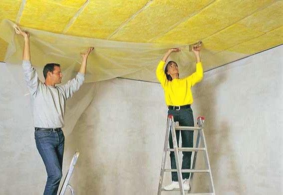 Пароизоляция для потолка в деревянном перекрытии: как выбрать и закрепить, виды