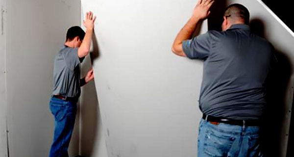 Гипсокартон на стены без каркаса – несложный монтаж, отличный результат