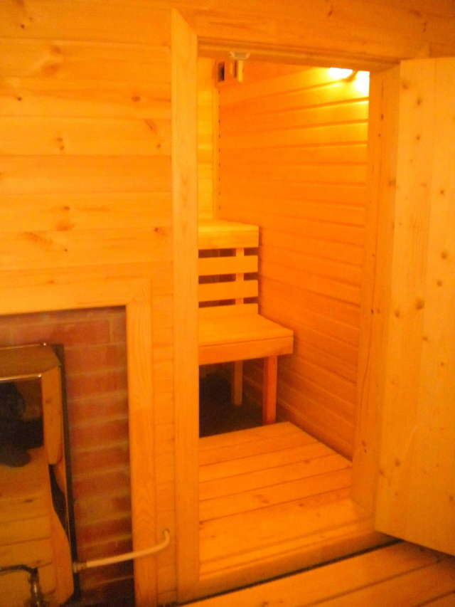 Оптимальный размер бани с комнатой отдыха и парилкой