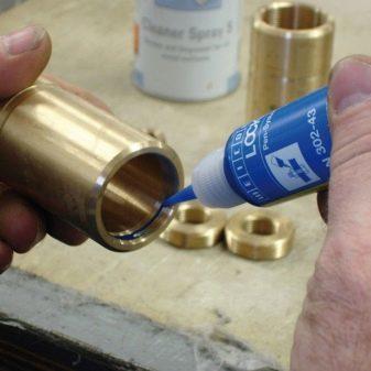 Анаэробный герметик для резьбовых соединений в сантехнике