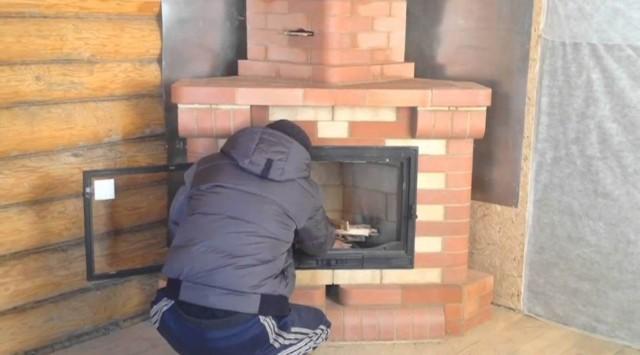 Камин из кирпича своими руками: проекты, пошаговая инструкция