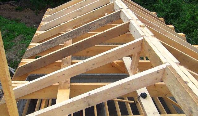 Двускатная крыша: стропильная система своими руками, способы завязывания франтона, мауэрлат