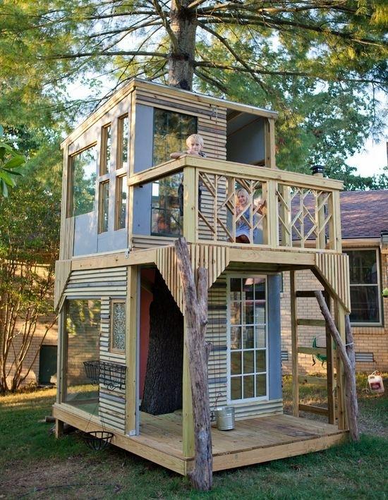 Как сделать (построить) дом на дереве своими руками