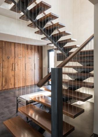 Металлические лестницы на второй этаж в частном доме – изготовление своими руками, чертежи