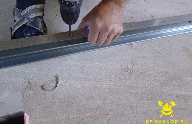 Как сделать нишу для штор из гипсокартона