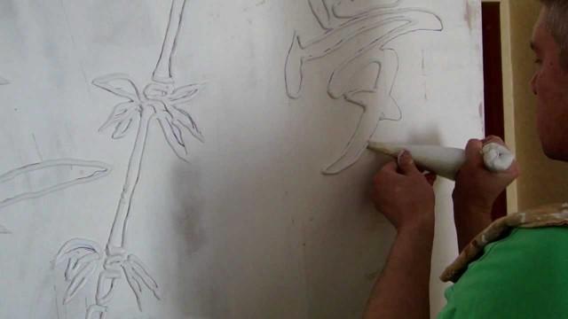 Картины из шпаклевки своими руками