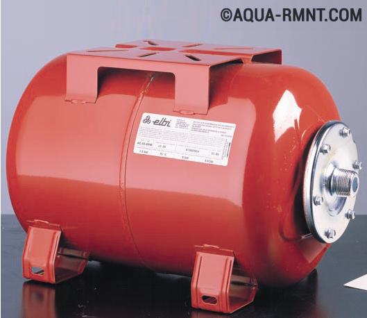 Гидроаккумулятор для систем водоснабжения: устройство и принцип работы, зачем нужен?