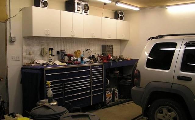 Как сделать верстак в гараже своими руками