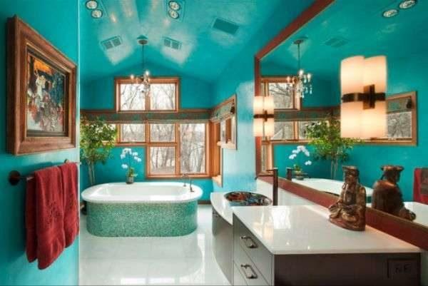 Как выбрать лучший потолок в ванную комнаты