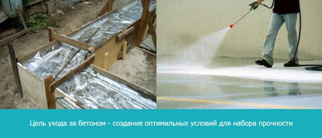 Сколько сохнет и время схватывания бетона: таблица