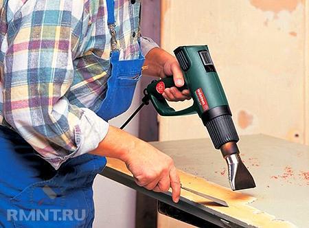 Как выбрать недорогой технический строительный фен с регулировкой температуры
